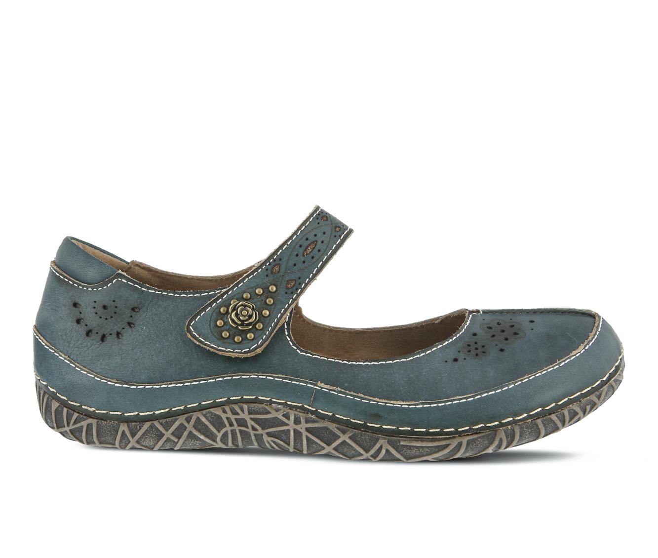 L'Artiste Lazarina Women's Shoe (Blue Leather)