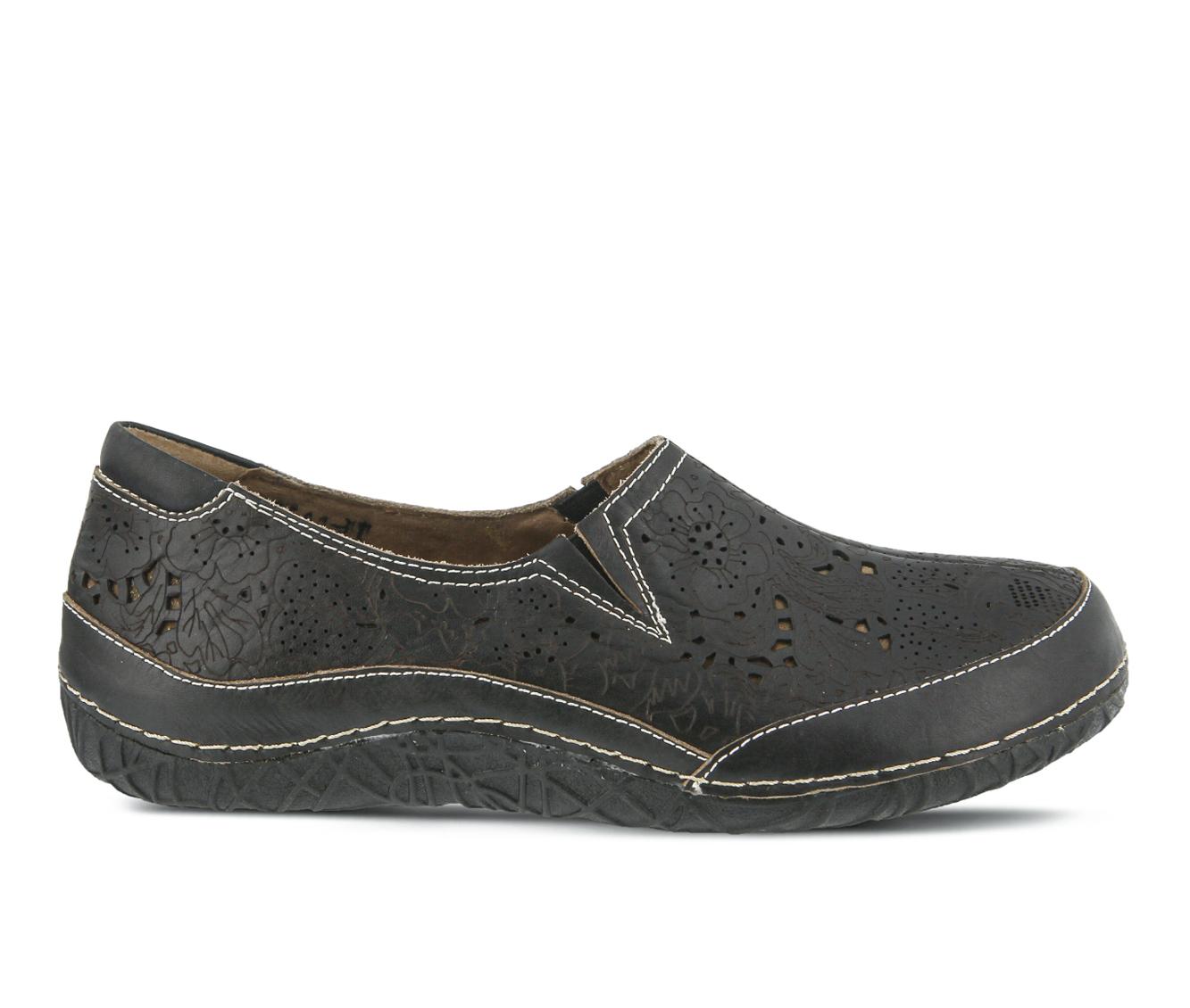L'Artiste Libora Women's Shoe (Black Leather)