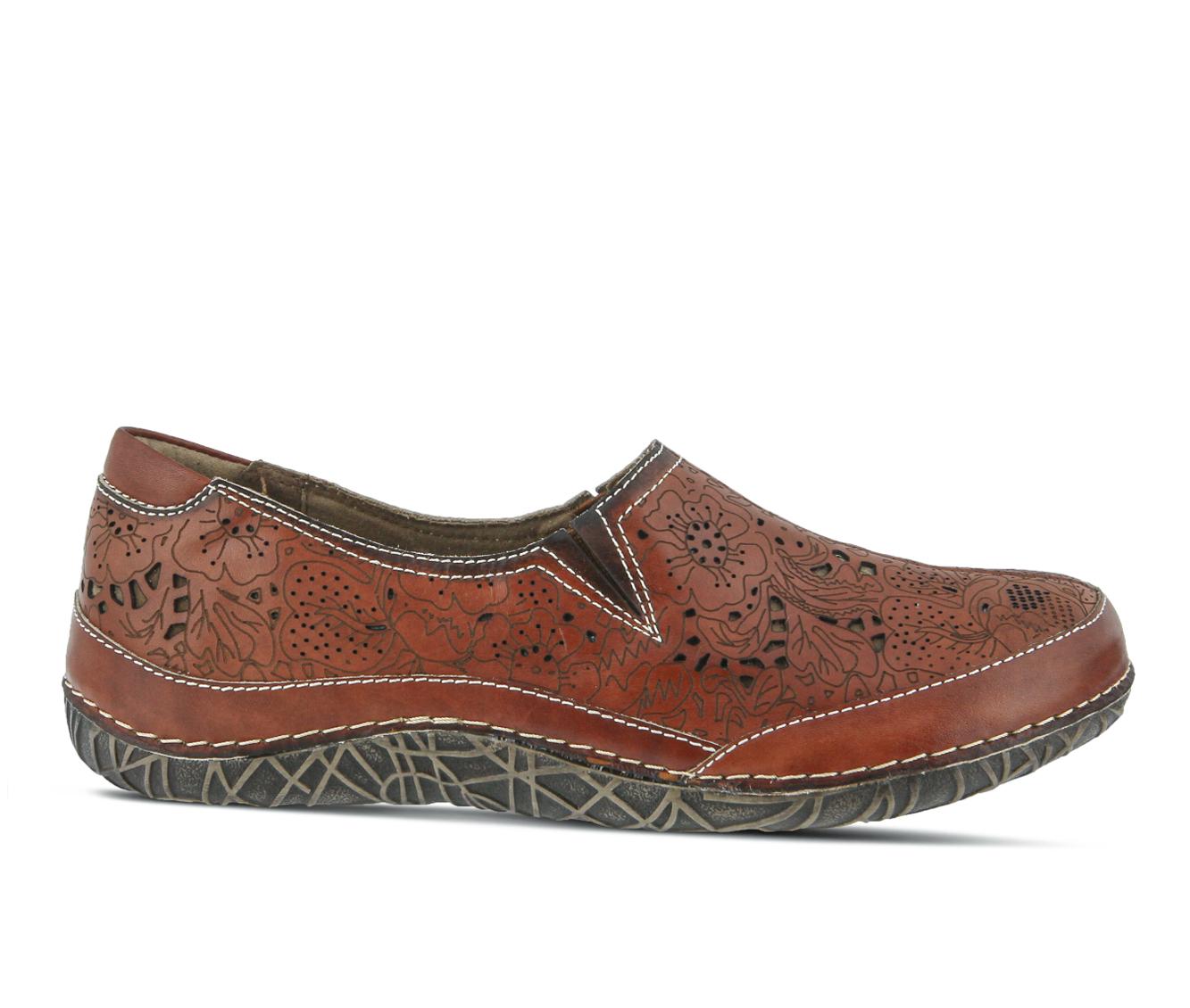 L'Artiste Libora Women's Shoe (Brown Leather)