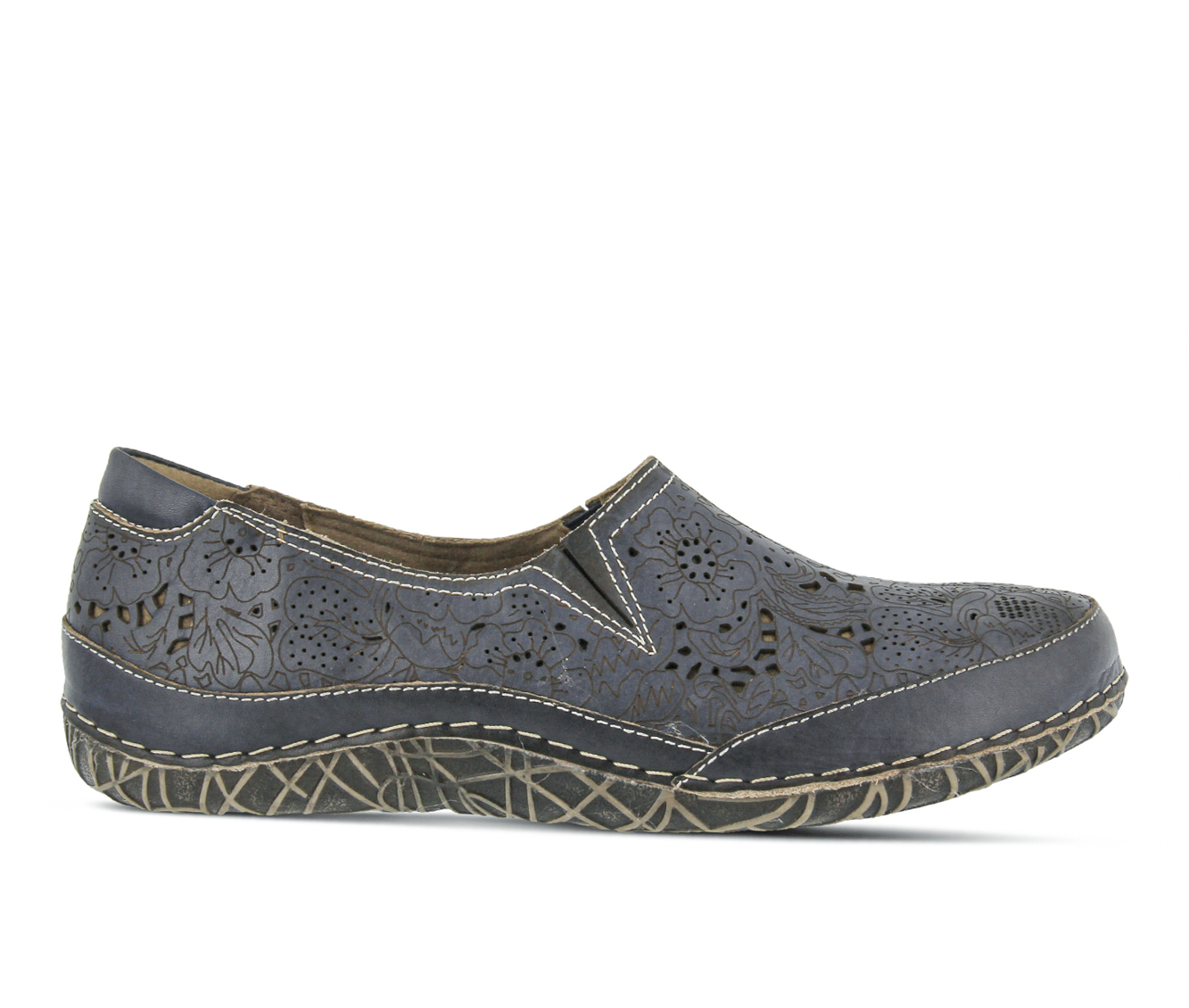 L'Artiste Libora Women's Shoe (Blue Leather)