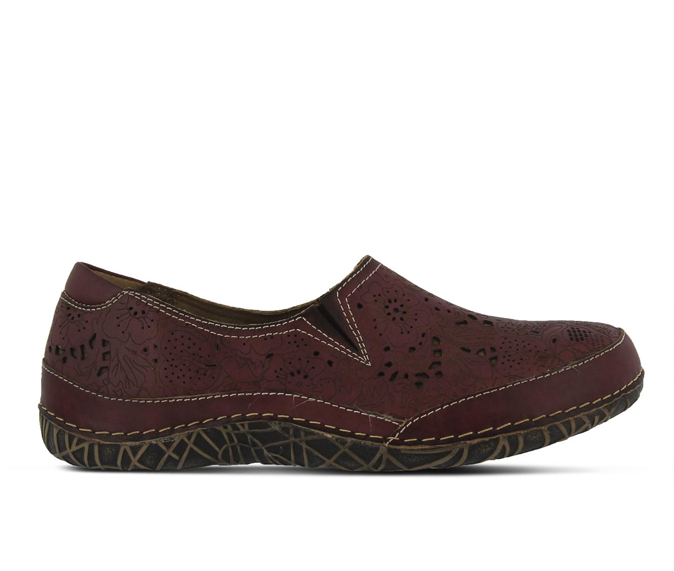 L'Artiste Libora Women's Shoe (Purple Leather)
