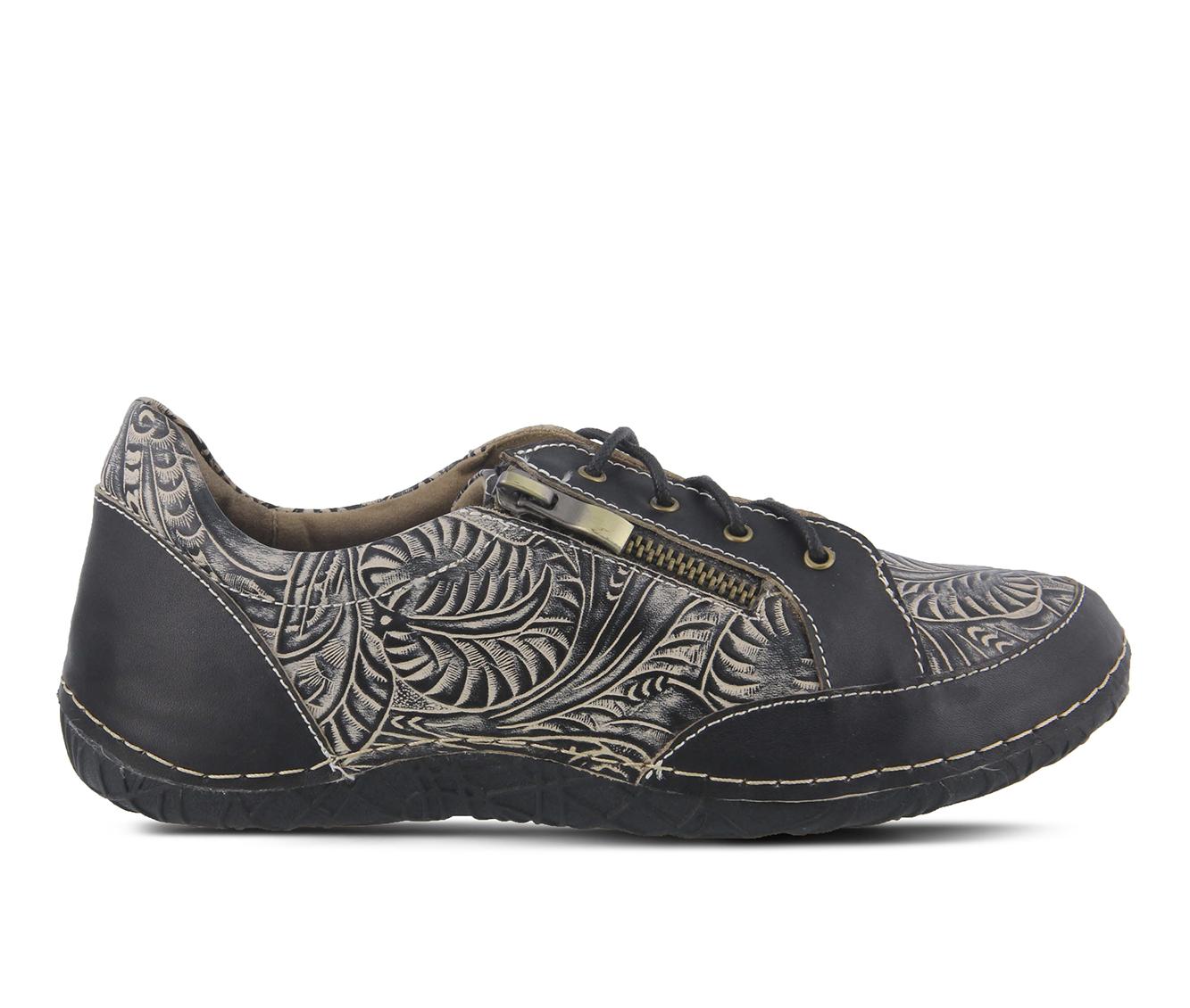 L'Artiste Cluny Women's Shoe (Black Leather)