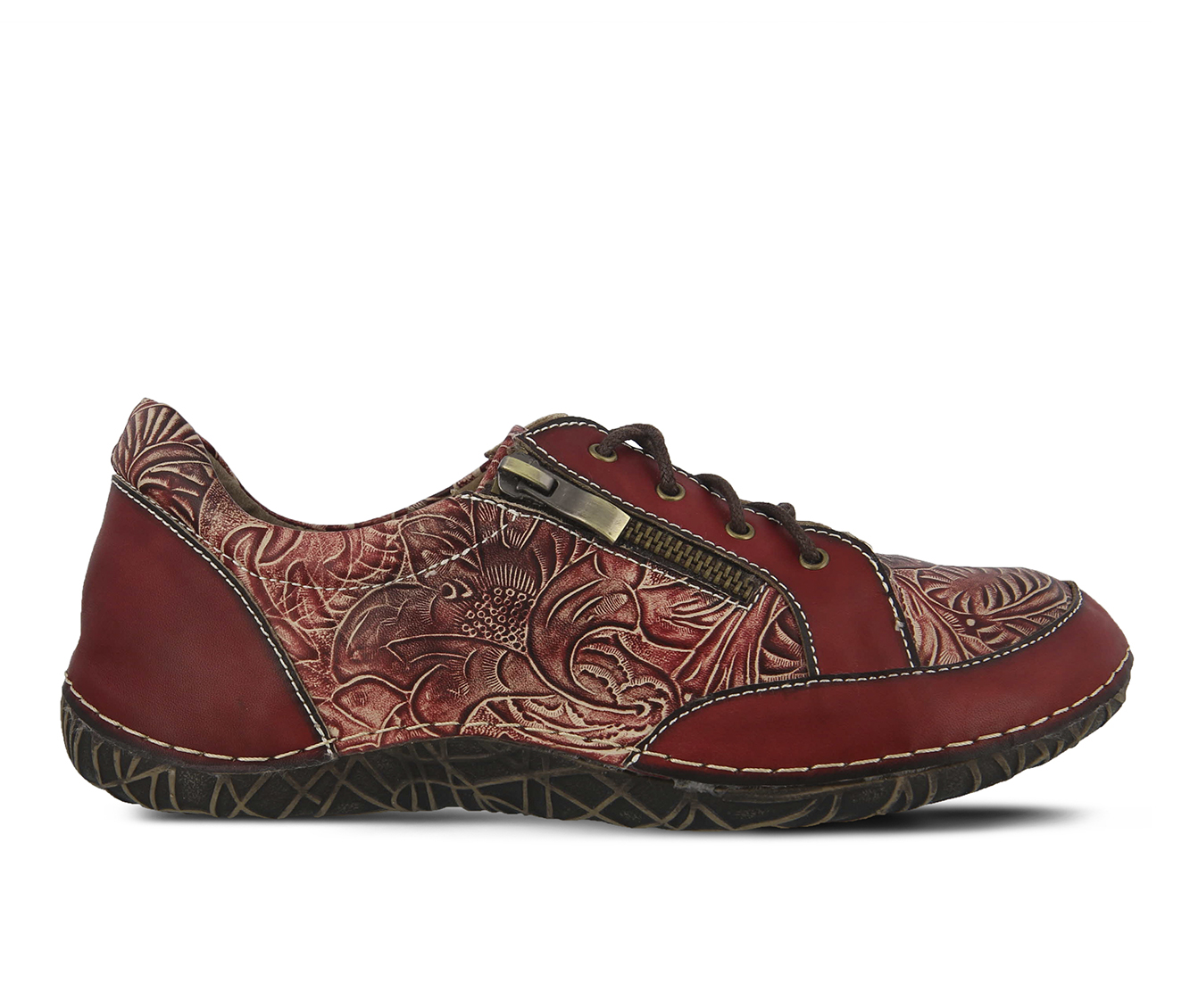 L'Artiste Cluny Women's Shoe (Red Leather)