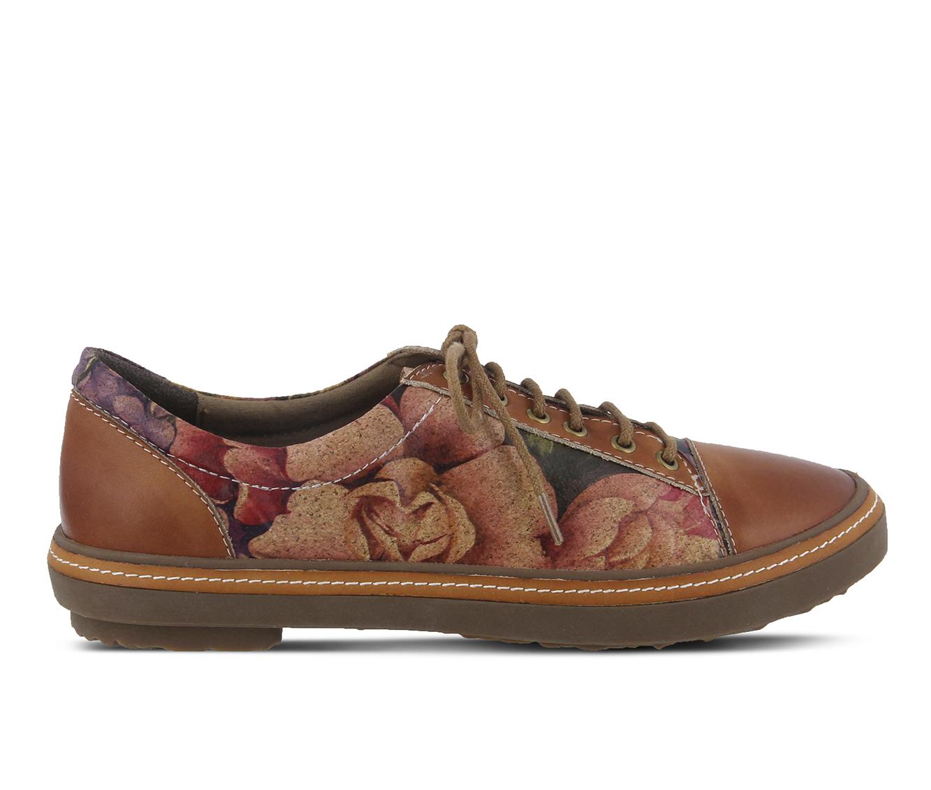 L'Artiste Libbi-Rose Women's Shoe (Brown Leather)