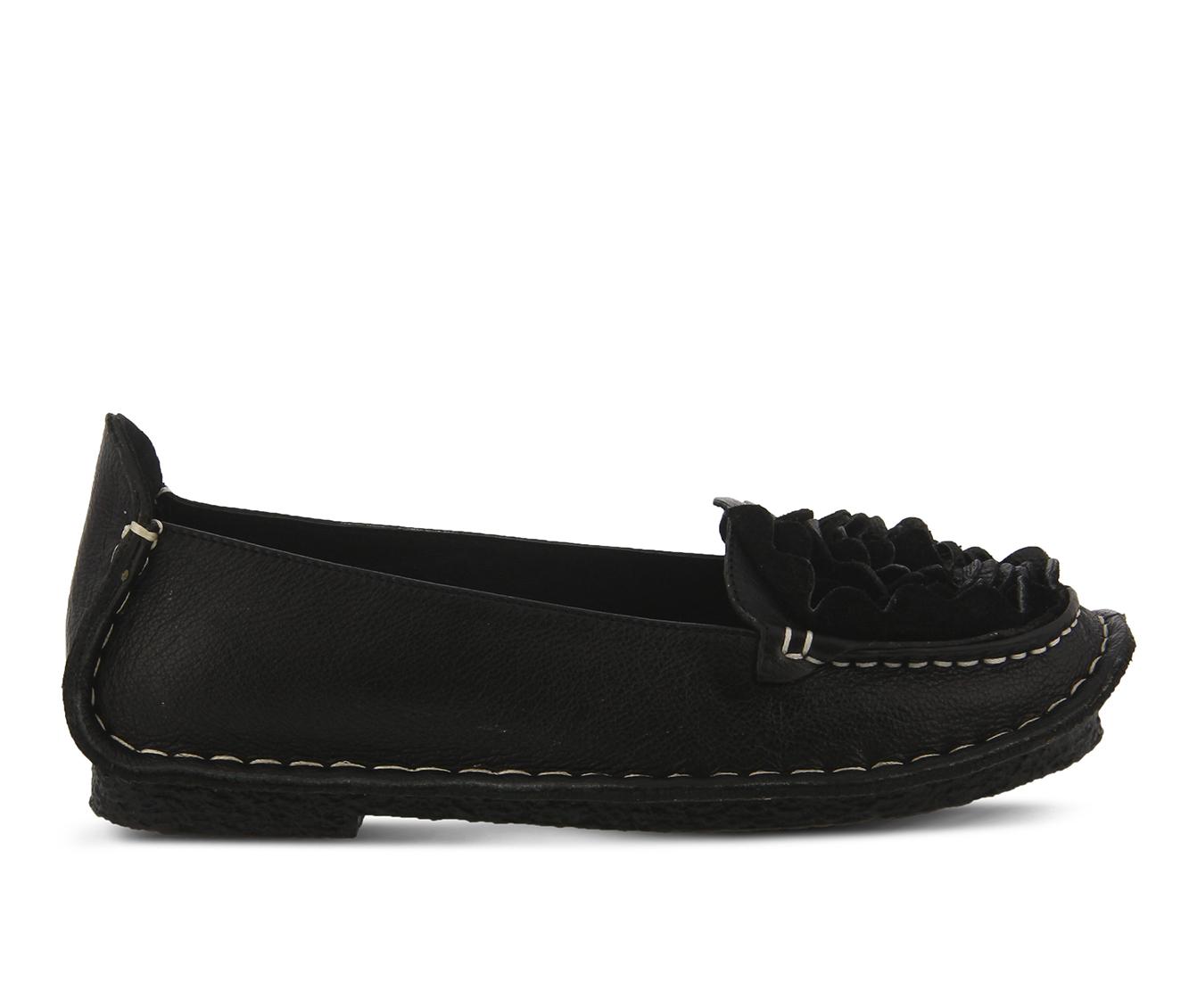 L'Artiste Dezi Women's Shoe (Black Leather)