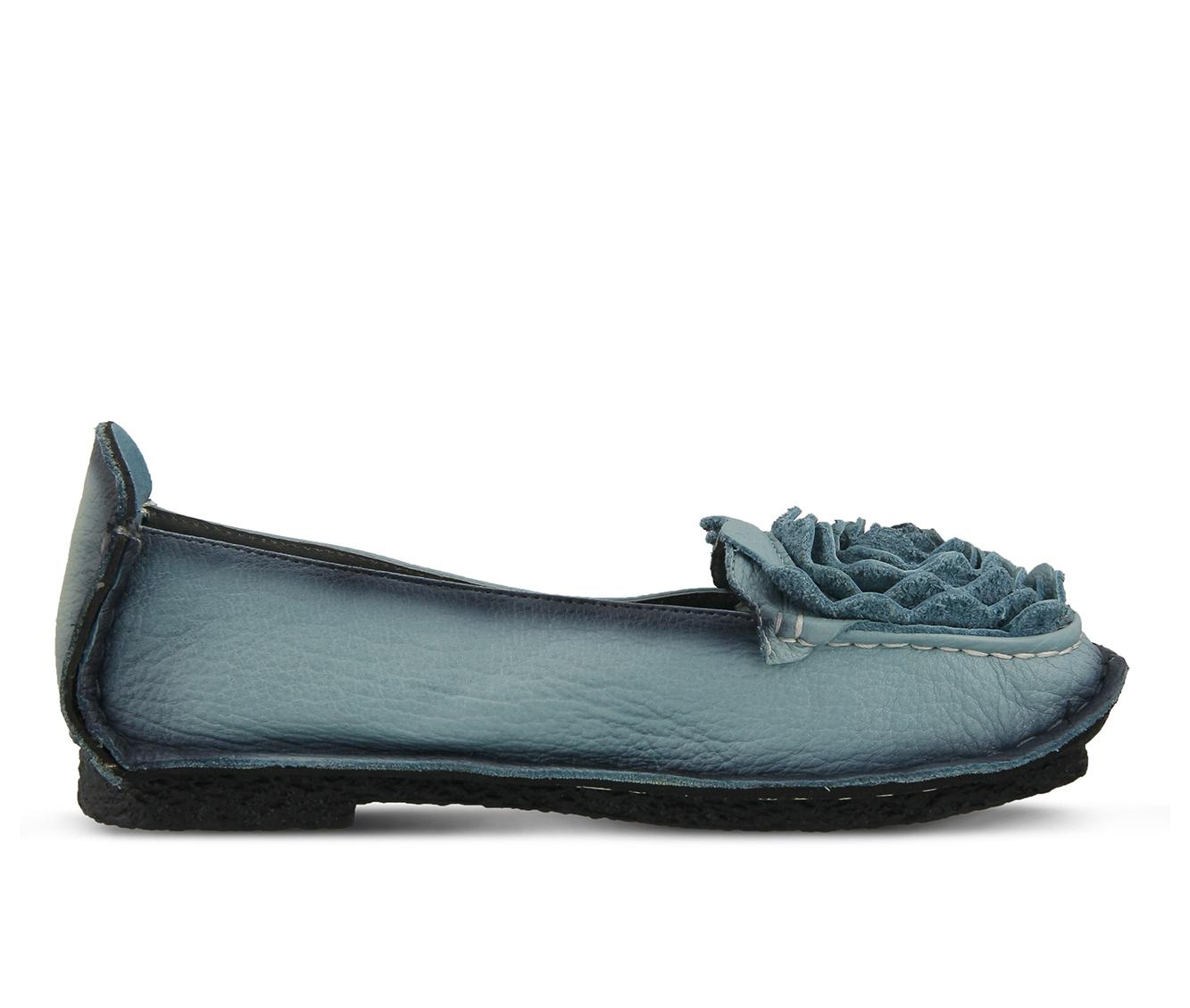L'Artiste Dezi Women's Shoe (Blue Leather)