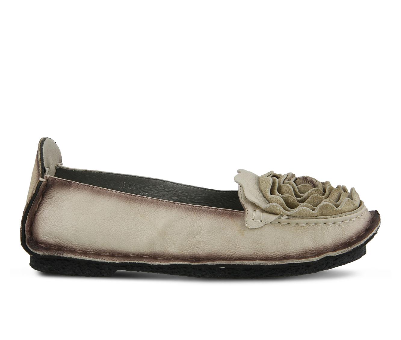 L'Artiste Dezi Women's Shoe (Beige Leather)