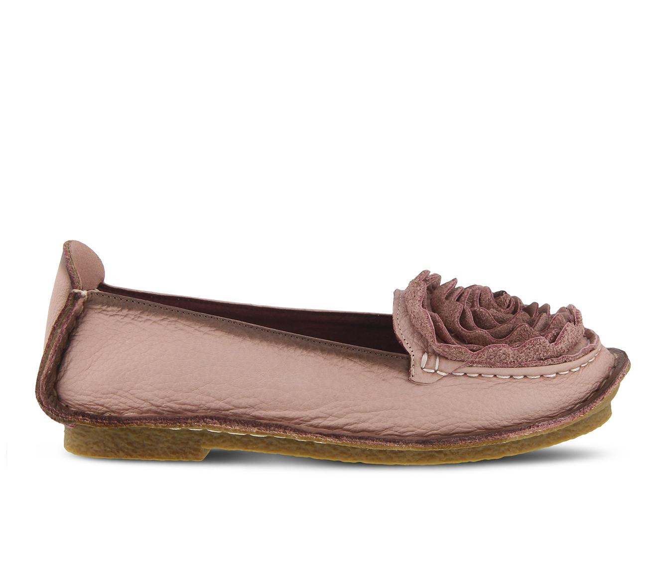 L'Artiste Dezi Women's Shoe (Pink Leather)