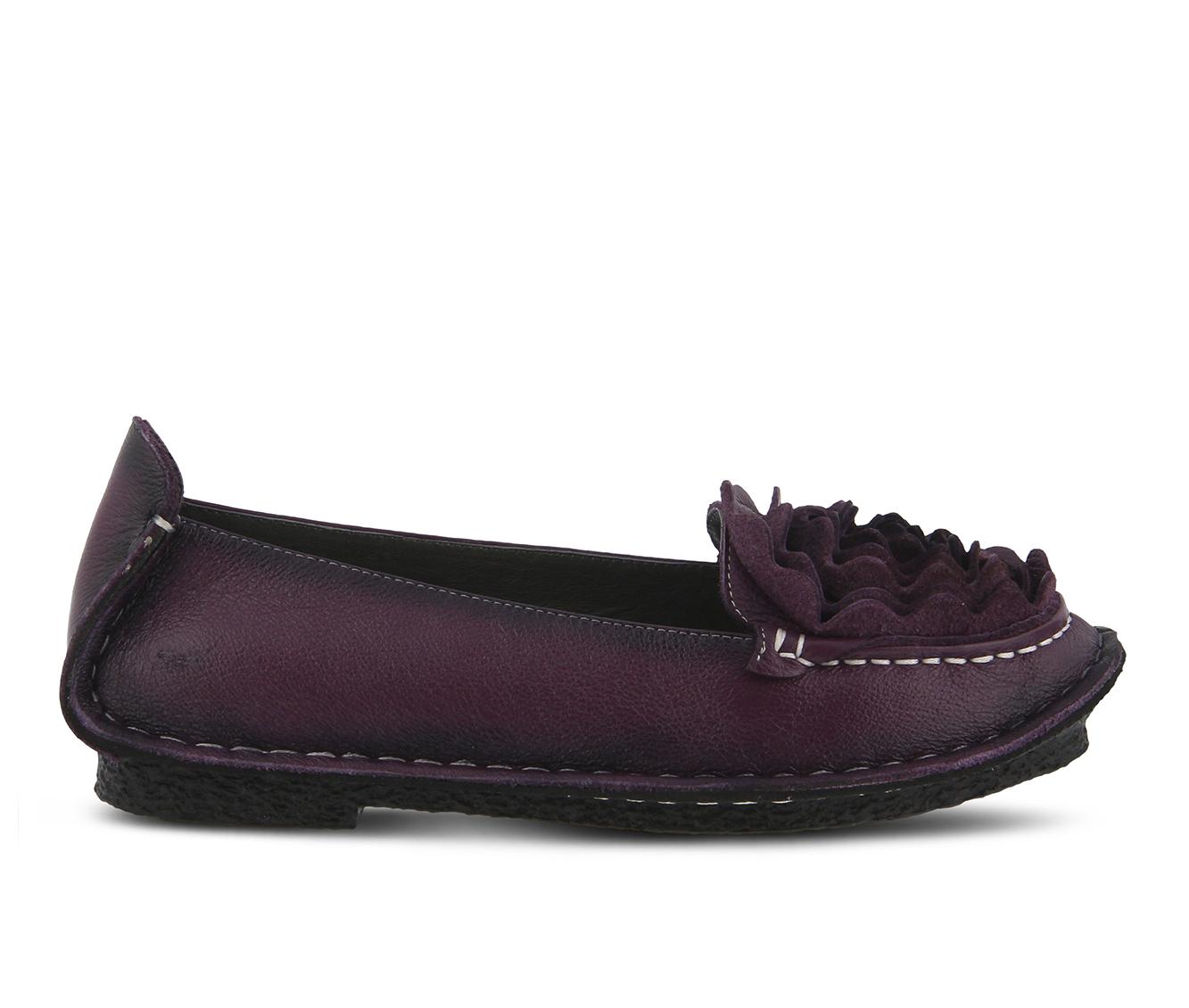 L'Artiste Dezi Women's Shoe (Purple Leather)