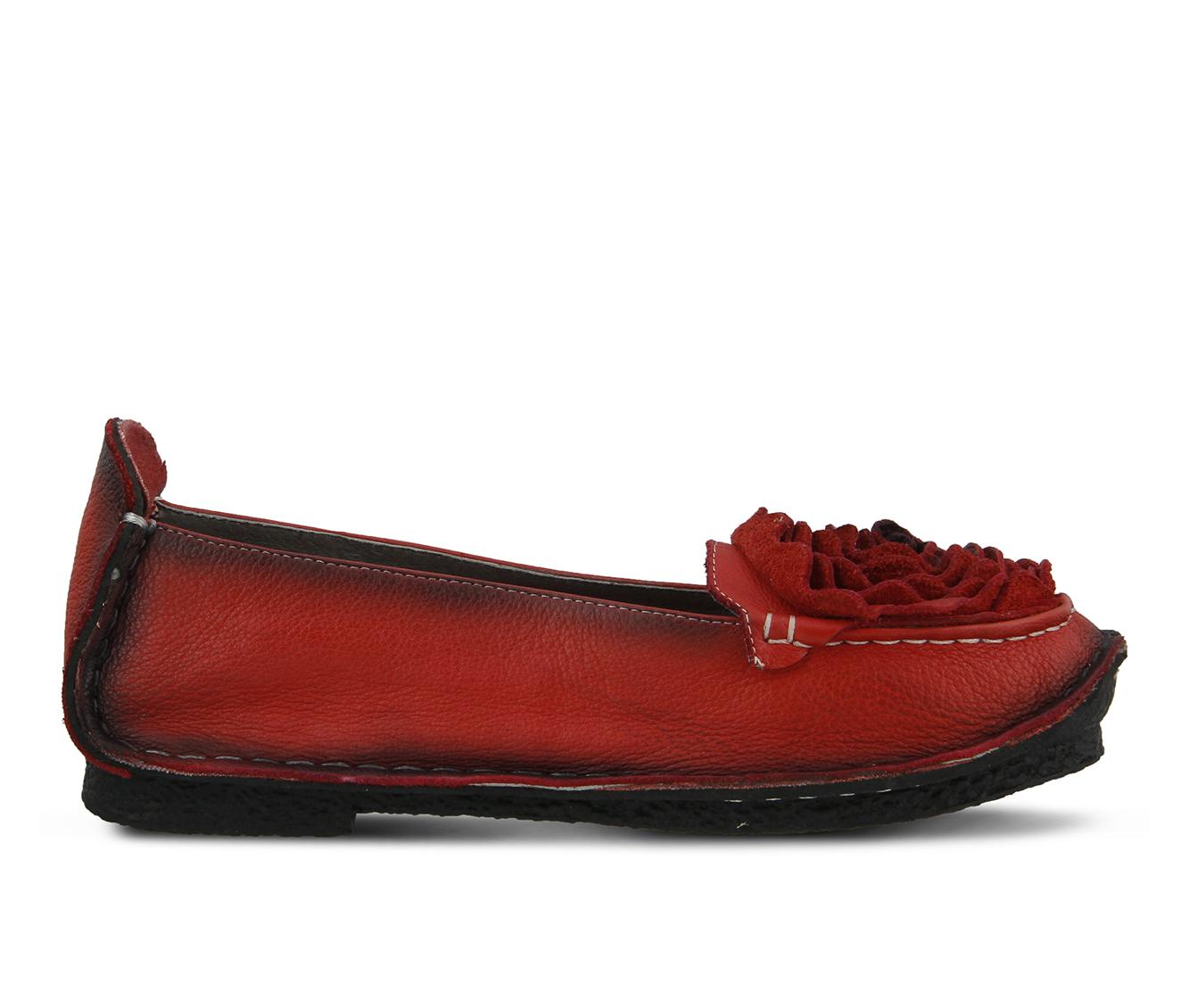 L'Artiste Dezi Women's Shoe (Red Leather)