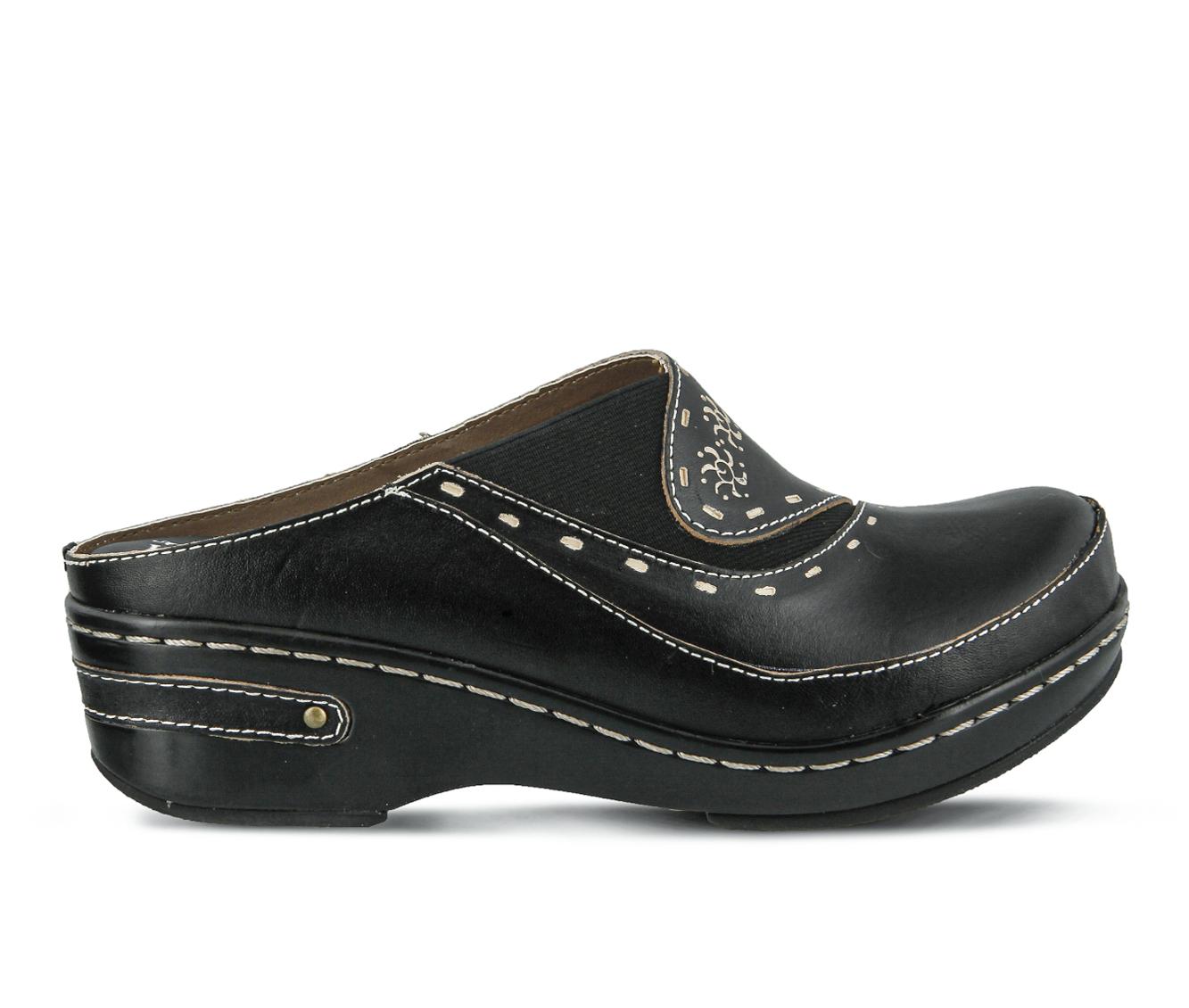 L'Artiste Chino Women's Shoe (Black Leather)