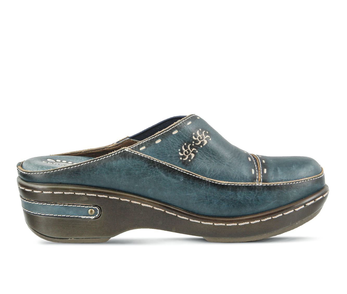 L'Artiste Chino Women's Shoe (Blue Leather)