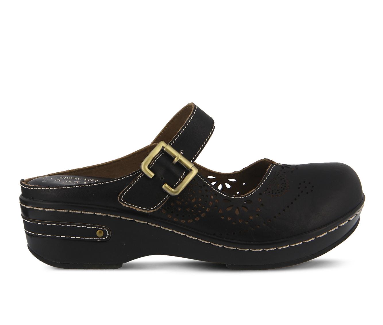 L'Artiste Aneria Women's Shoe (Black Leather)