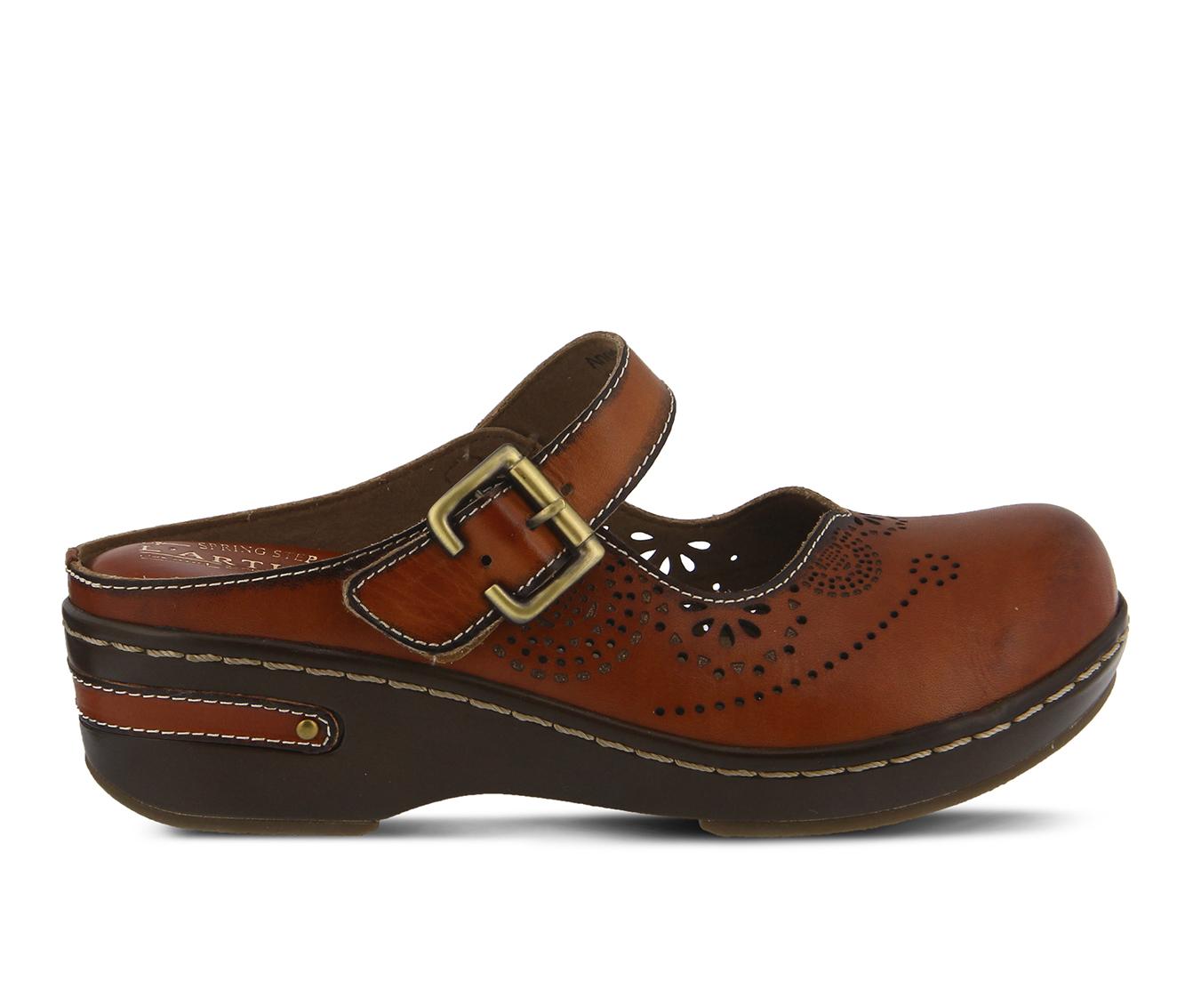 L'Artiste Aneria Women's Shoe (Brown Leather)