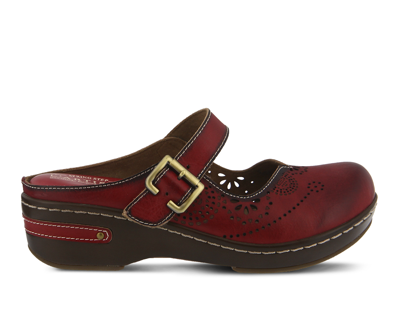 L'Artiste Aneria Women's Shoe (Red Leather)