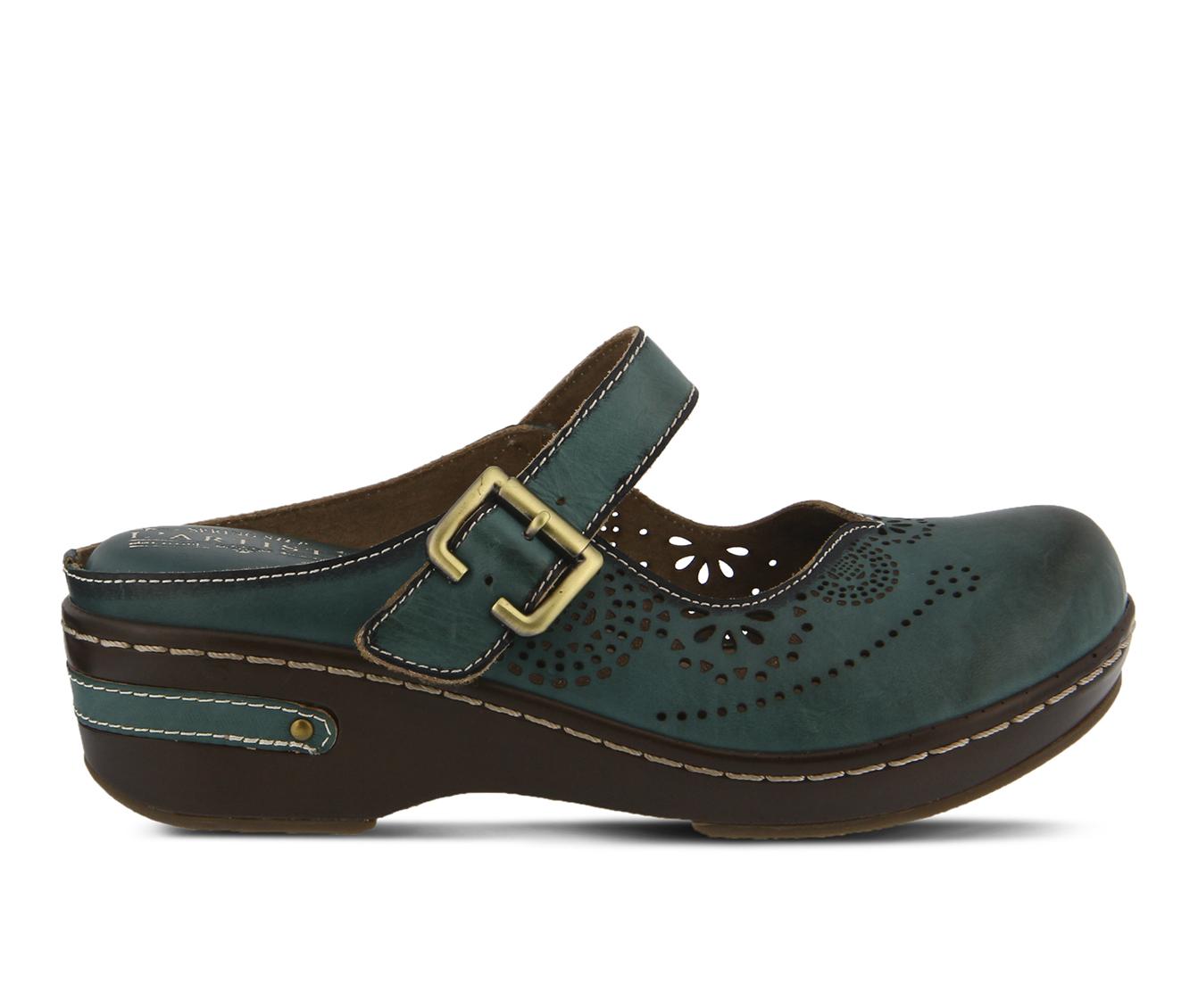 L'Artiste Aneria Women's Shoe (Blue Leather)