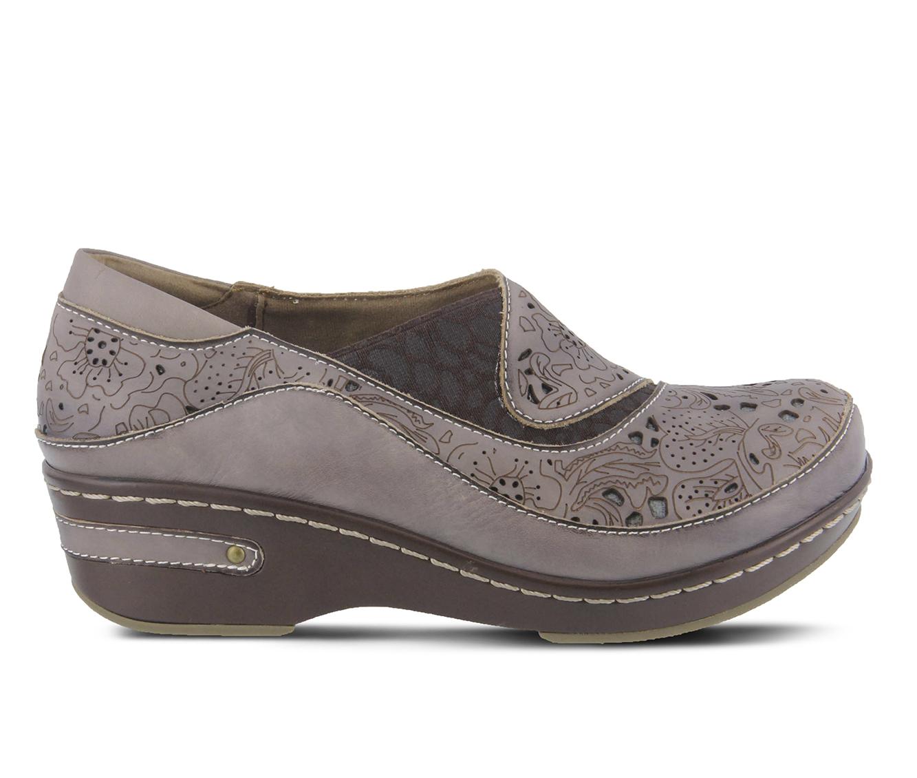 L'Artiste Brankla Women's Shoe (Gray Leather)