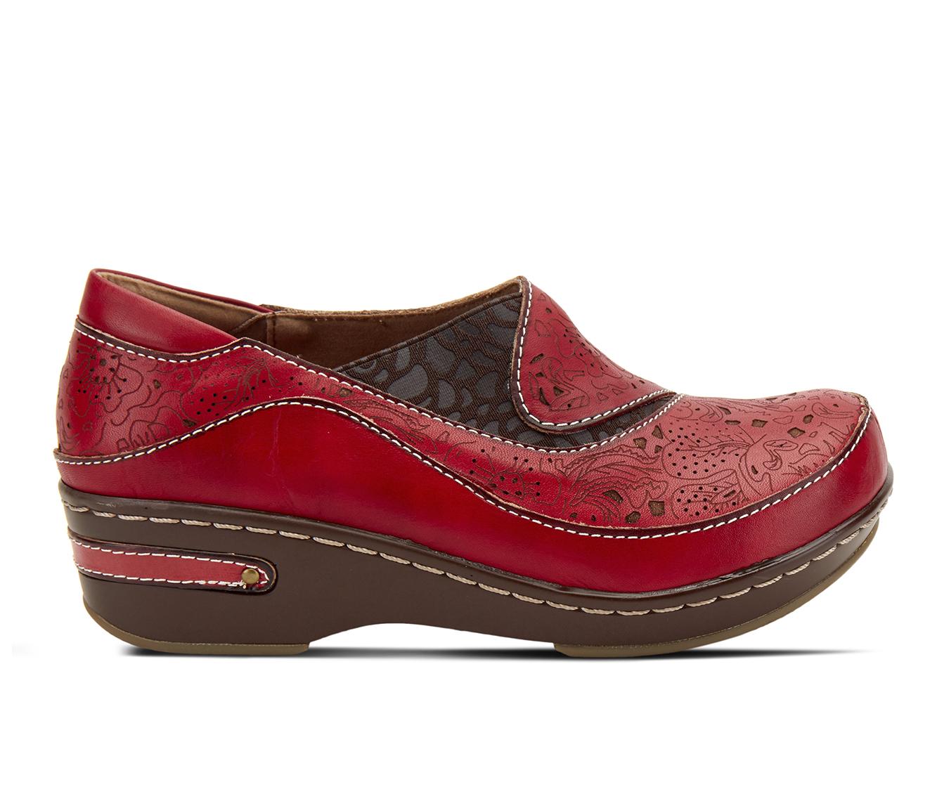 L'Artiste Brankla Women's Shoe (Red Leather)