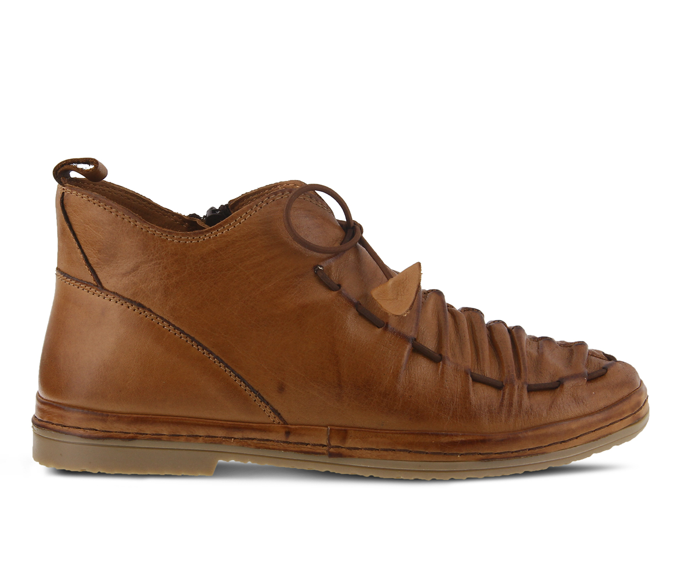 SPRING STEP Nestren Women's Shoe (Brown - Leather)