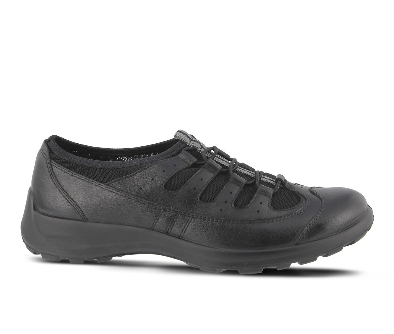 Flexus Jaiya Women's Shoe (Black Leather)