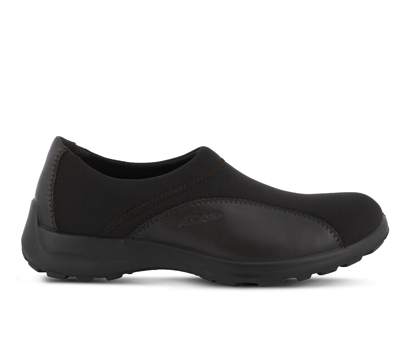 Flexus Willow Women's Shoe (Black Leather)