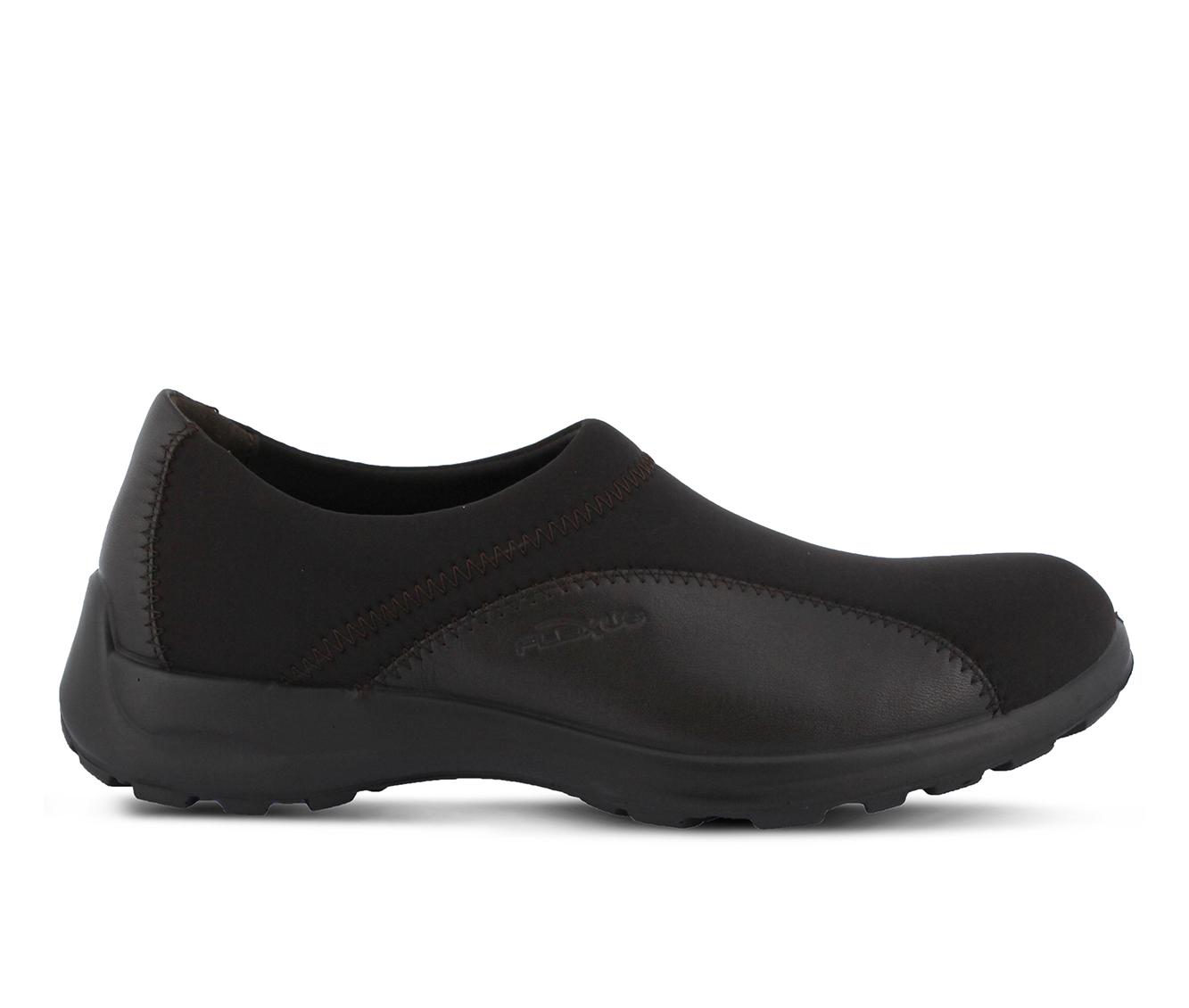 Flexus Willow Women's Shoe (Brown Leather)