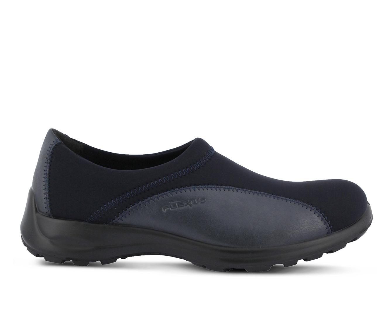 Flexus Willow Women's Shoe (Blue Leather)