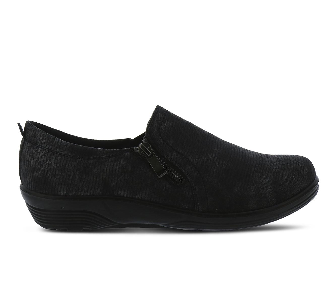 Flexus Mandiella Women's Shoe (Black Faux Leather)