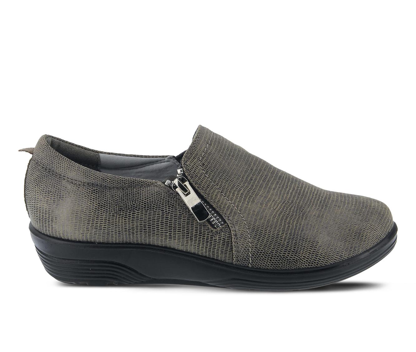Flexus Mandiella Women's Shoe (Gray Faux Leather)