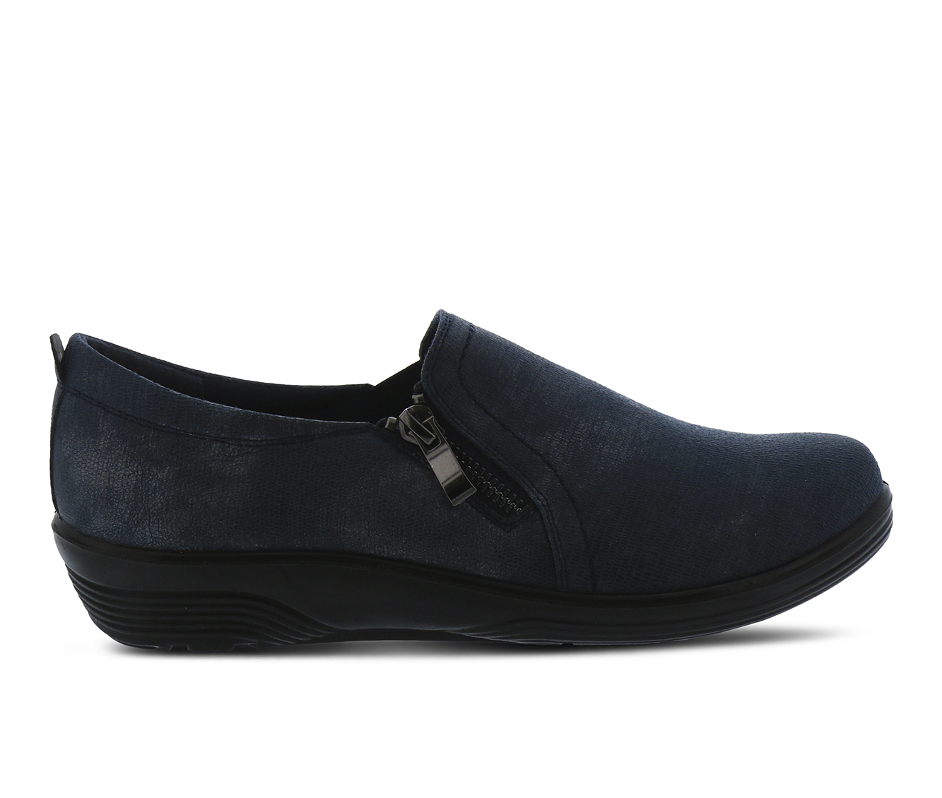 Flexus Mandiella Women's Shoe (Blue Faux Leather)