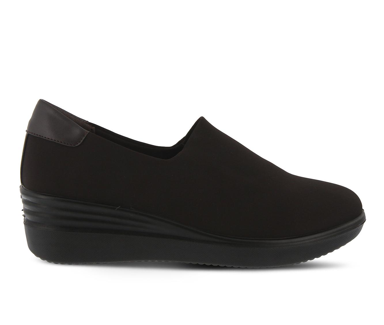 Flexus Noral Women's Shoe (Brown Canvas)