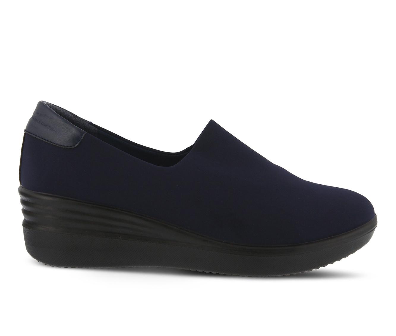 Flexus Noral Women's Shoe (Blue Canvas)