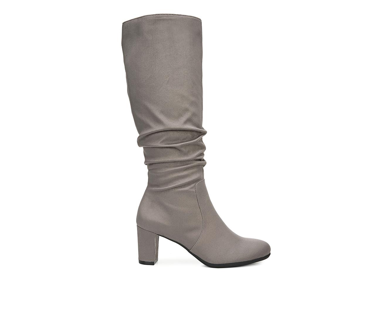 LifeStride Maltese Women's Boots (Gray - Canvas)