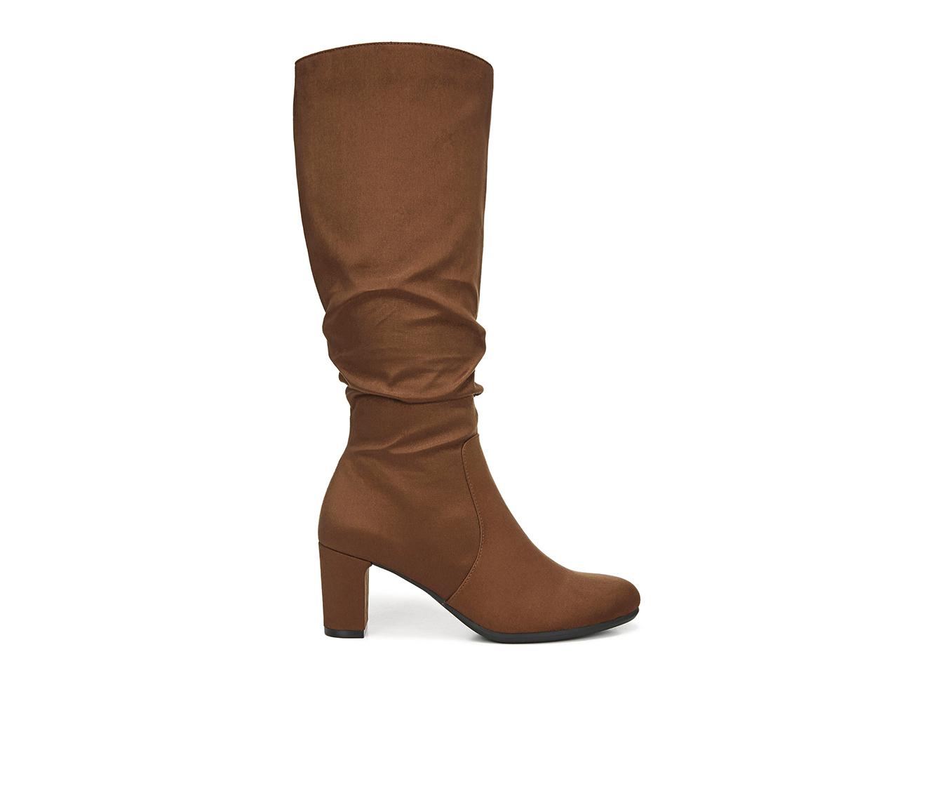 LifeStride Maltese Women's Boots (Brown - Canvas)