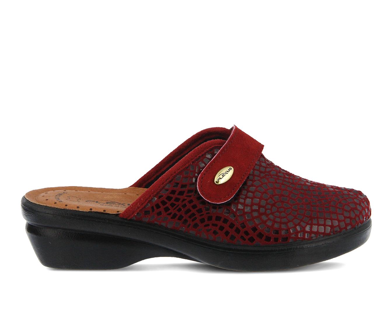 Flexus Merula Women's Shoe (Black Faux Leather)
