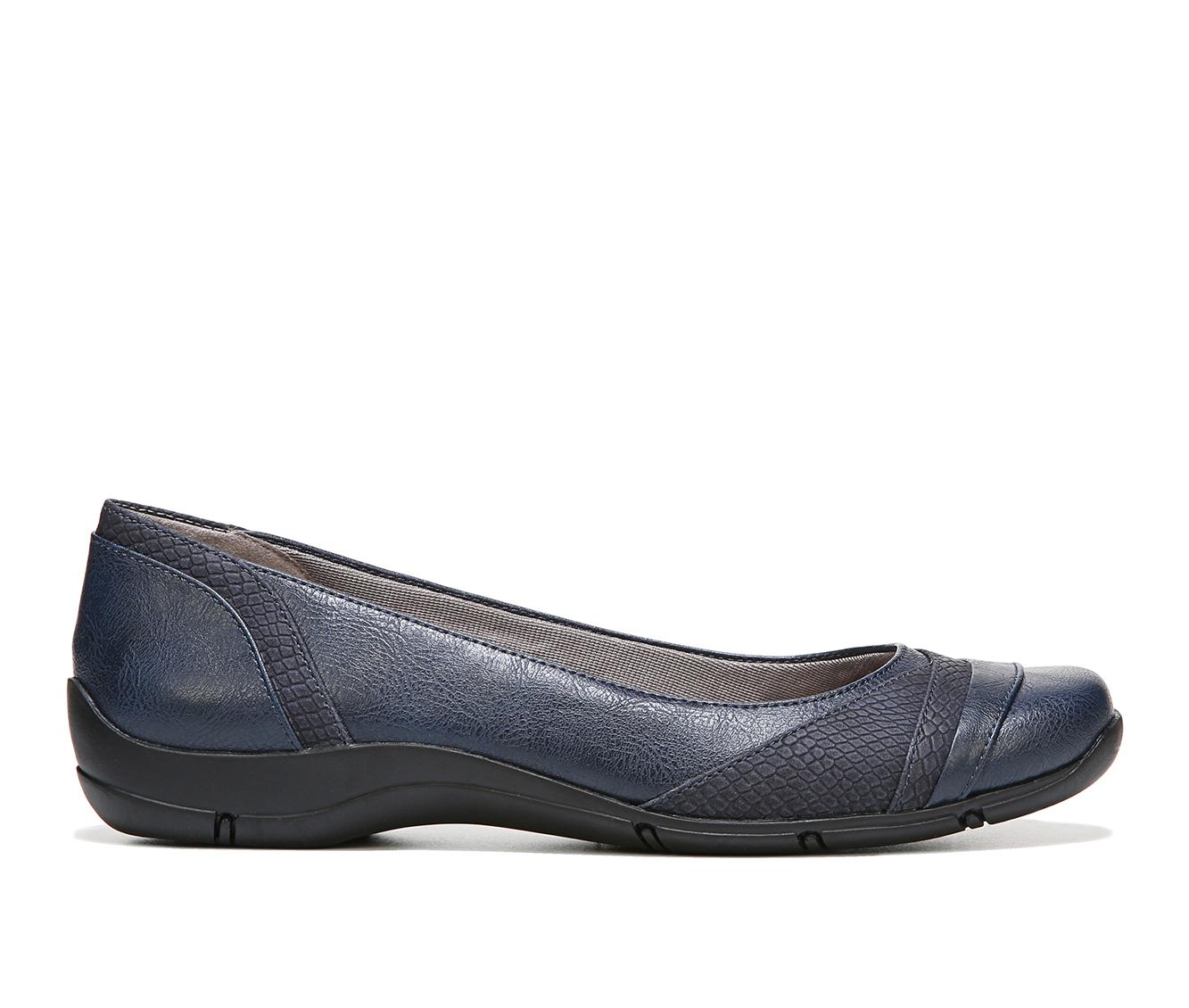 LifeStride Dig Women's Shoe (Blue Faux Leather)