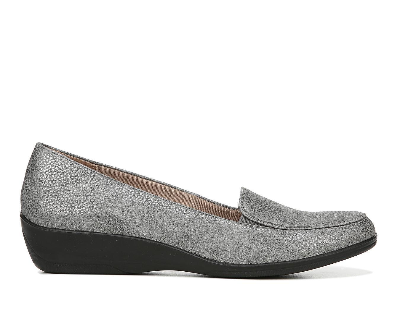 LifeStride Impulse Women's Shoe (Gray Faux Leather)
