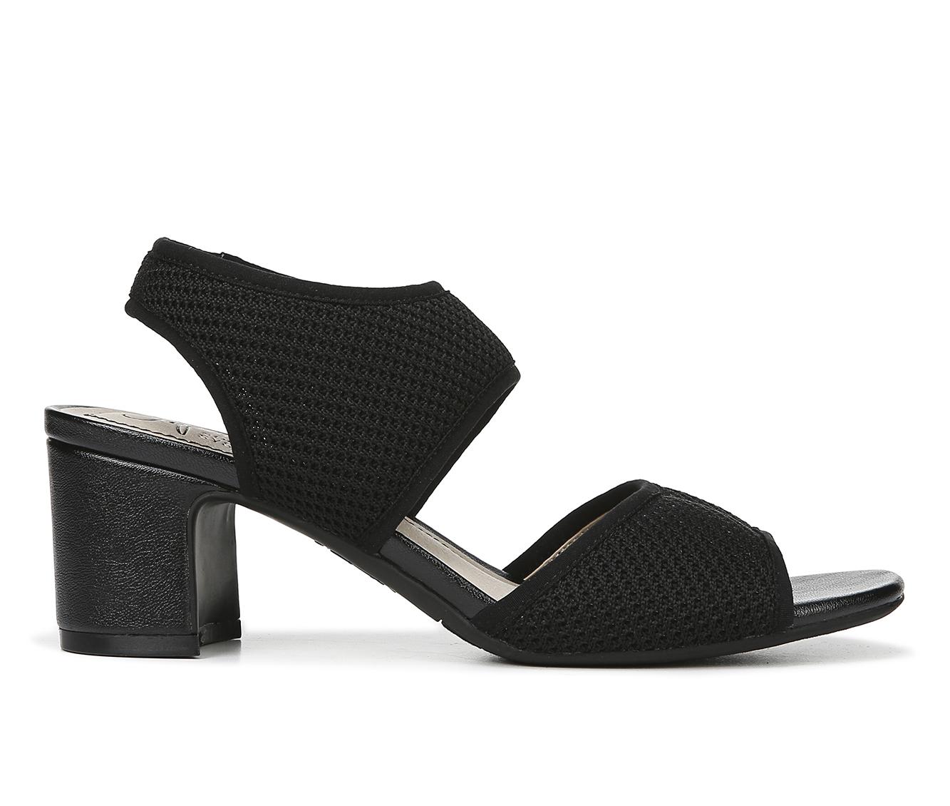 LifeStride Courtney Women's Dress Shoe (Black Canvas)