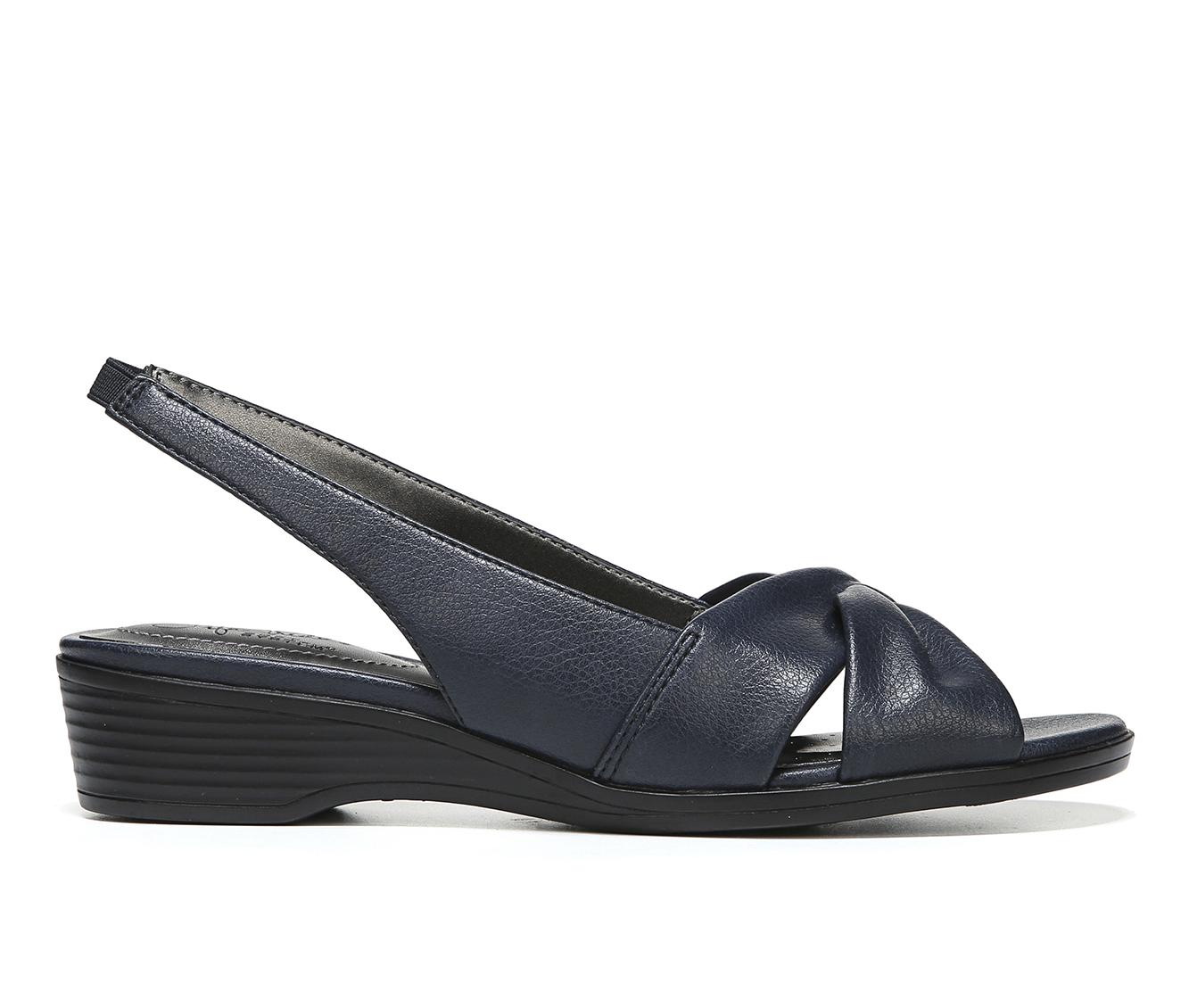 LifeStride Mimosa 2 Women's Sandal (Blue Faux Leather)
