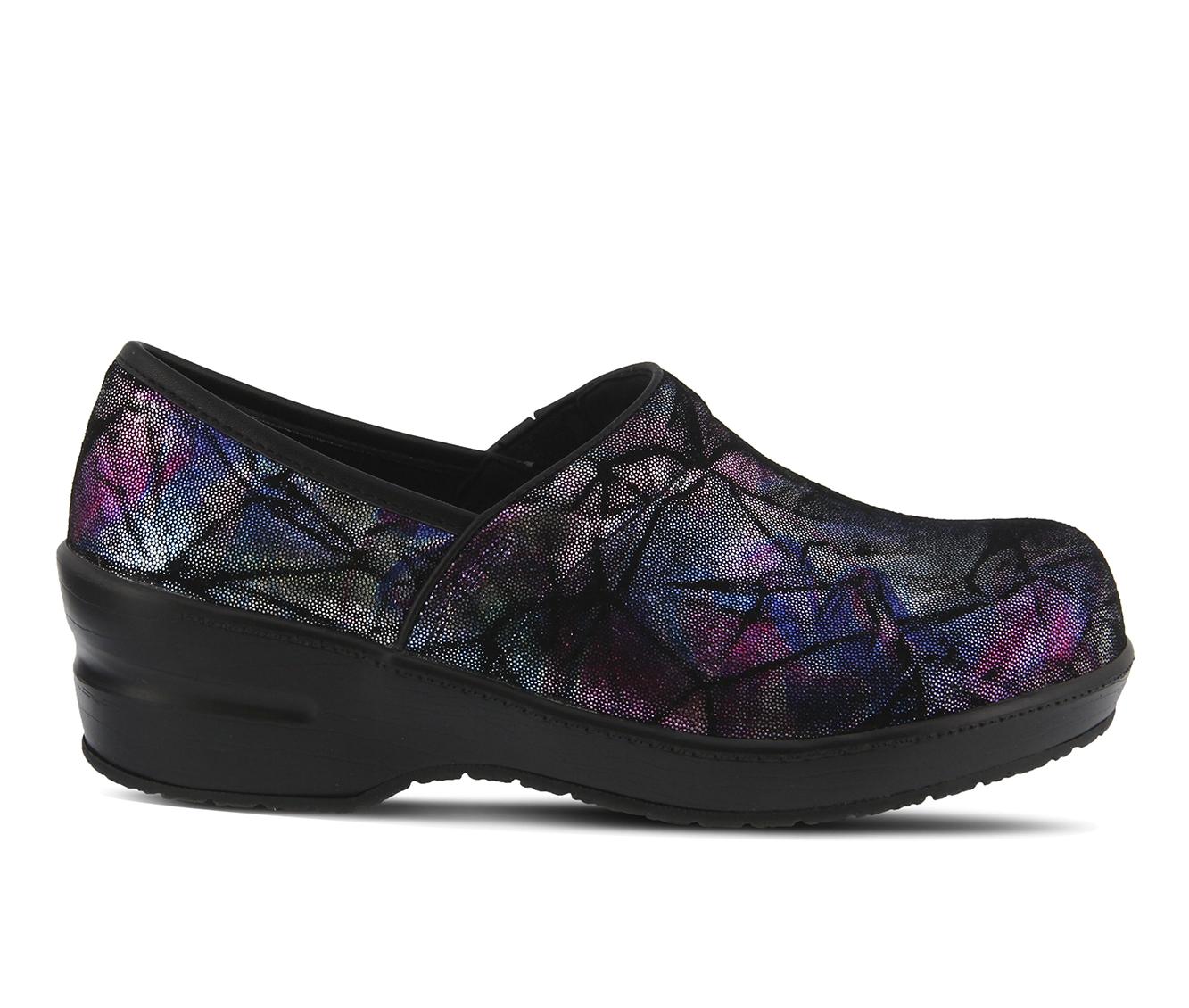 SPRING STEP Selle Foil Men's Boots (Purple - Leather)