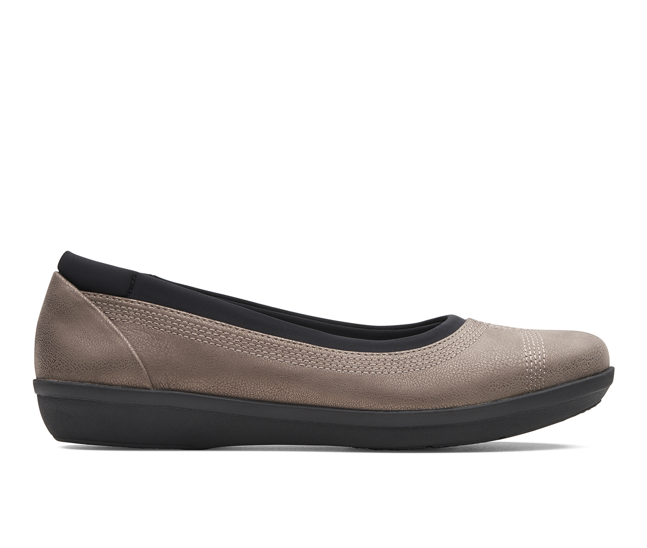 Clarks Ayla Form Women's Shoe (Brown Canvas)