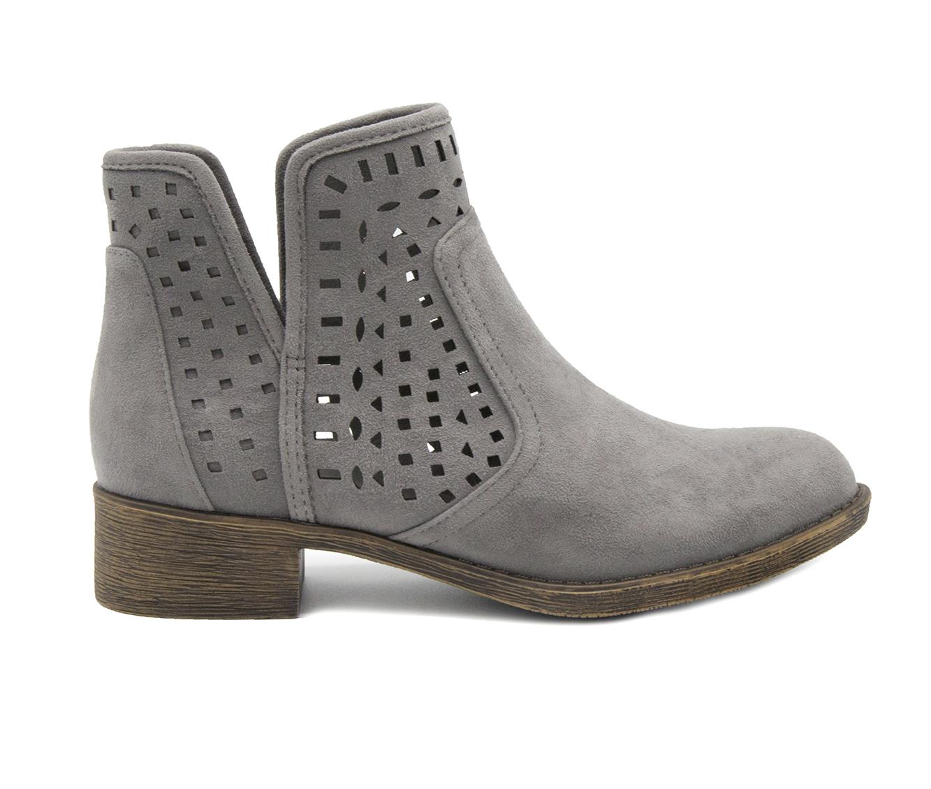 Sugar Calico Women's Boot (Gray Canvas)