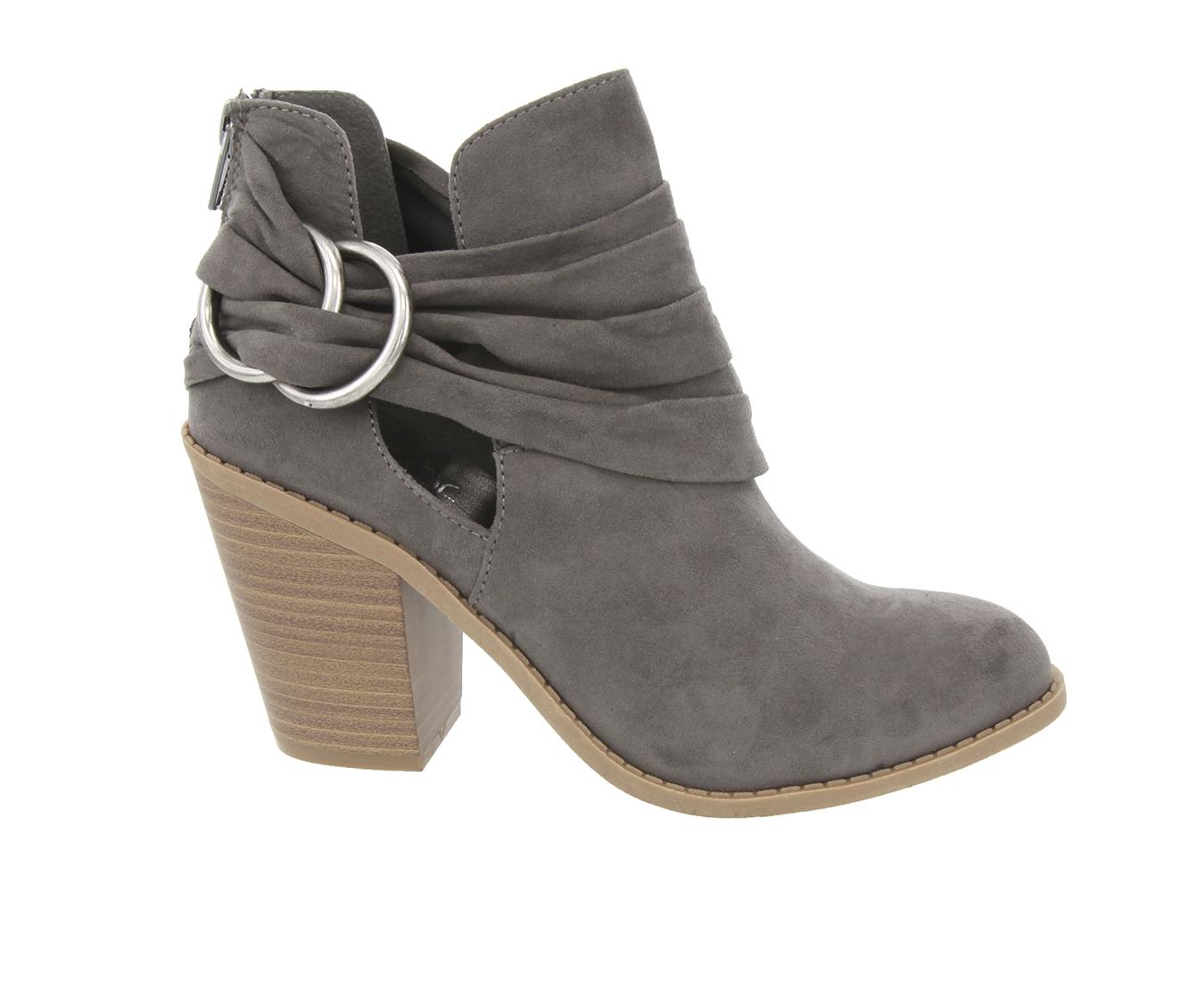 Sugar Victory Women's Boot (Gray Canvas)