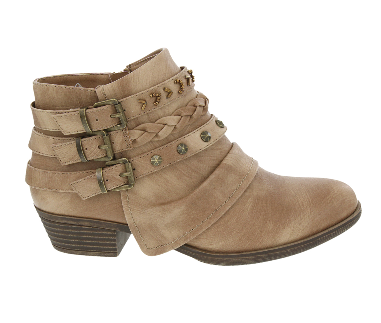 Sugar Truth Women's Boot (Brown Faux Leather)