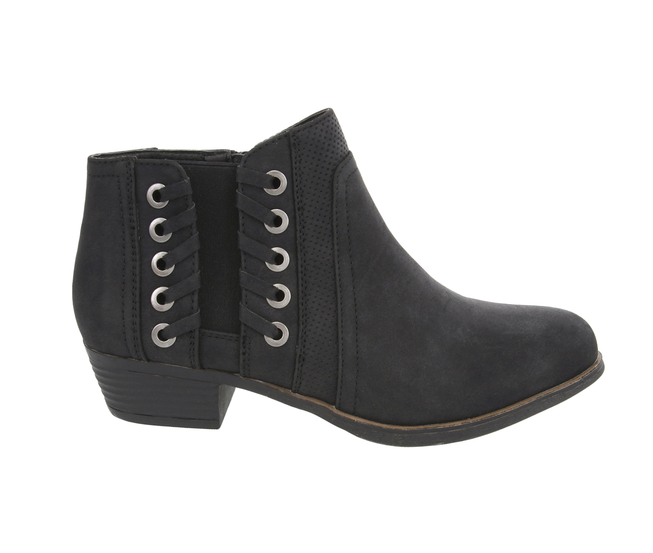 Sugar Tanner Women's Boot (Black Faux Leather)