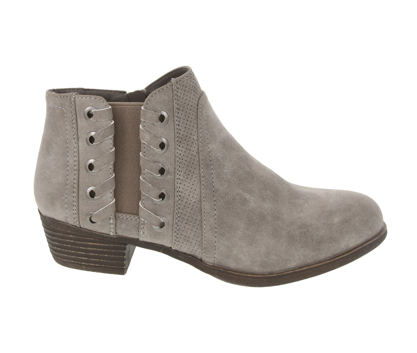 Sugar Tanner Women's Boot (Gray Faux Leather)