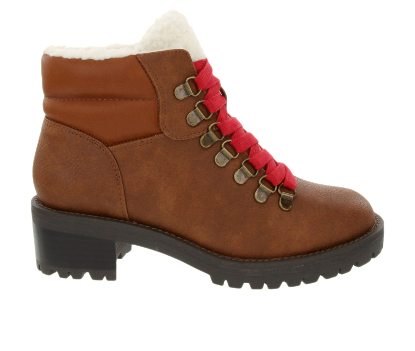 Sugar Marisol Women's Boot (Brown Faux Leather)