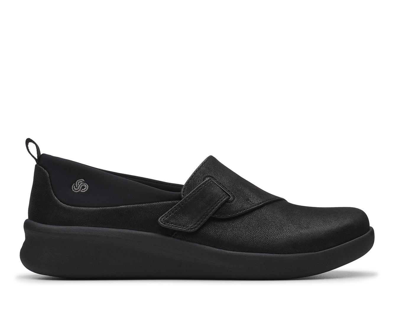 Clarks Sillian 2.0 Ease Women's Shoe (Black Canvas)
