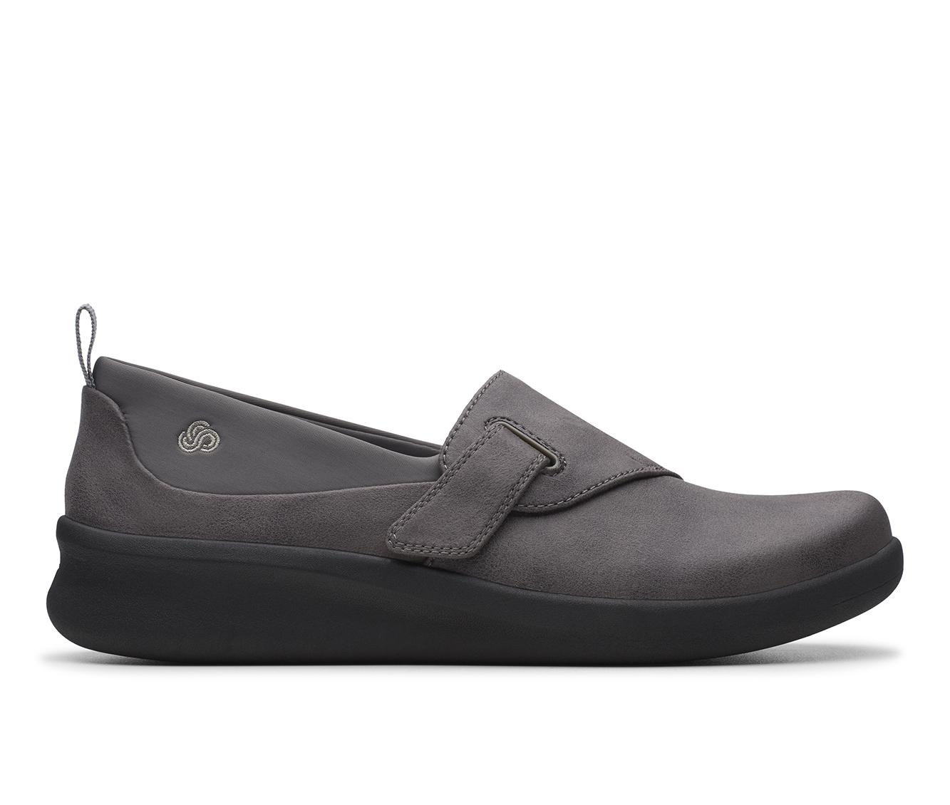 Clarks Sillian 2.0 Ease Women's Shoe (Gray Canvas)