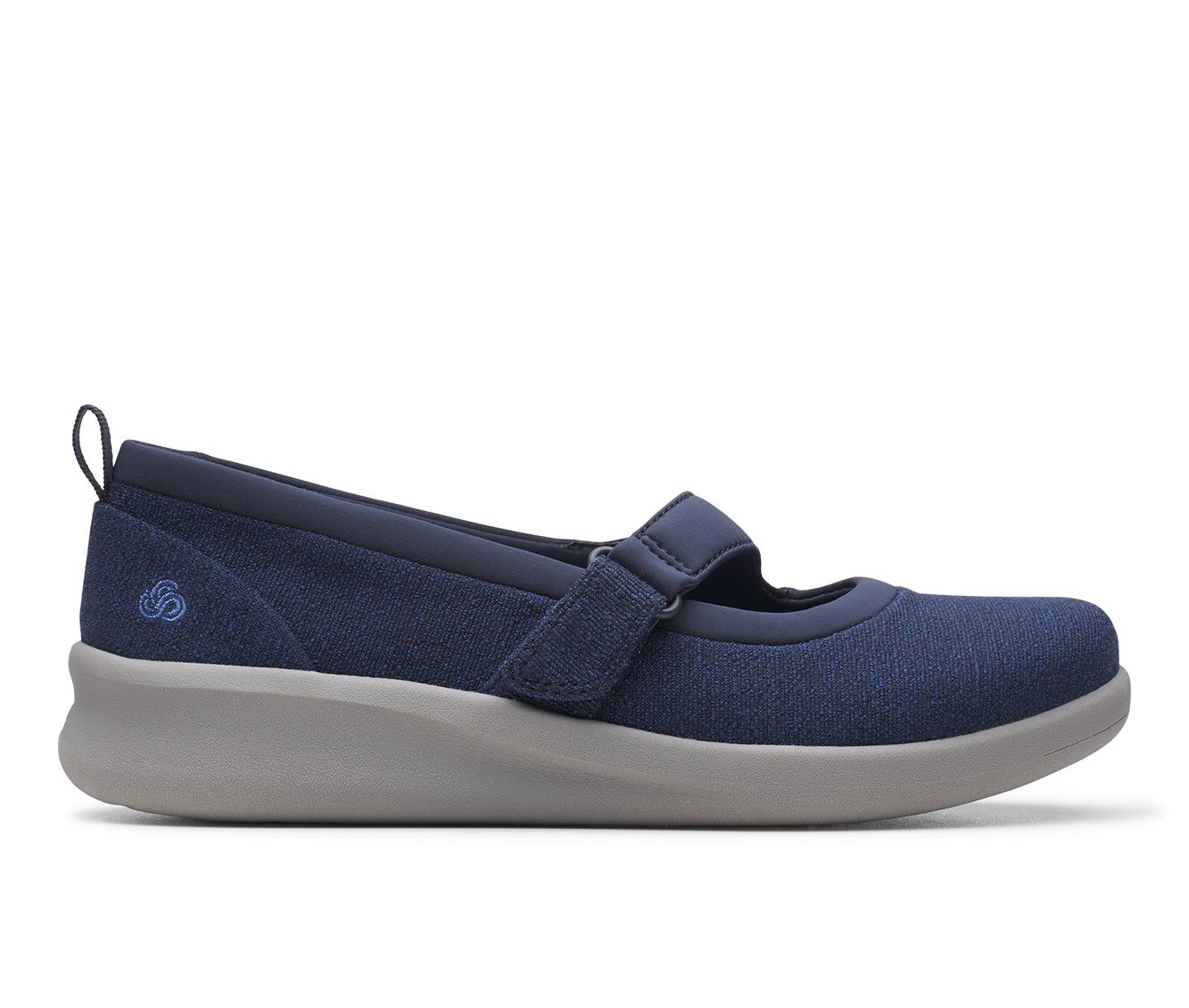 Clarks Sillian 2.0 Soul Women's Shoe (Blue Canvas)